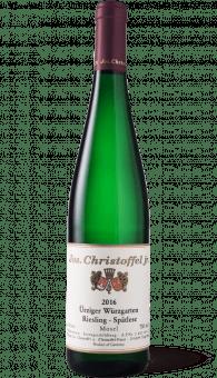 Jos. Christoffel jr. Ürziger Würzgarten Riesling Spätlese 2016