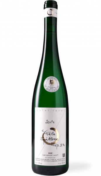 Peter Lauer Saarfeilser Feils Riesling Spätlese 2017 Grosser Ring Auction Wine 2018