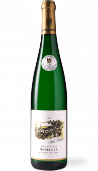 von Hövel Kanzemer Hörecker Riesling Spätlese 2017 Grosser Ring Auction Wine 2018